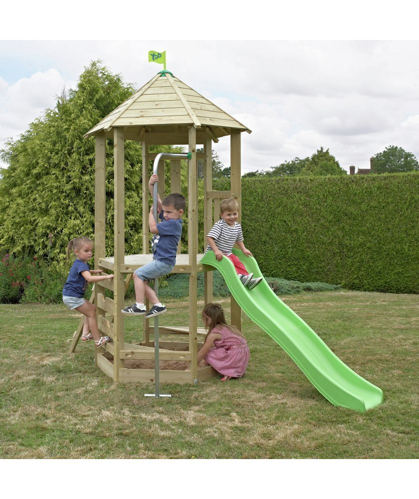 Buy TP Toys Castlewood Tower with Wavy Slide at Argos.co.uk - Your ...