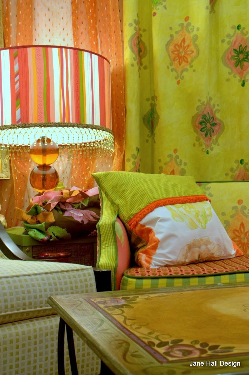 Vintage Furniture Re purposed in Tricia Guild Fabrics and Hand ...