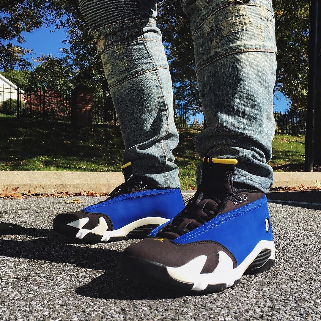 "28159ec119ff We have a video review of the recently released Jordan 14 ""Laney"" up on the  site"
