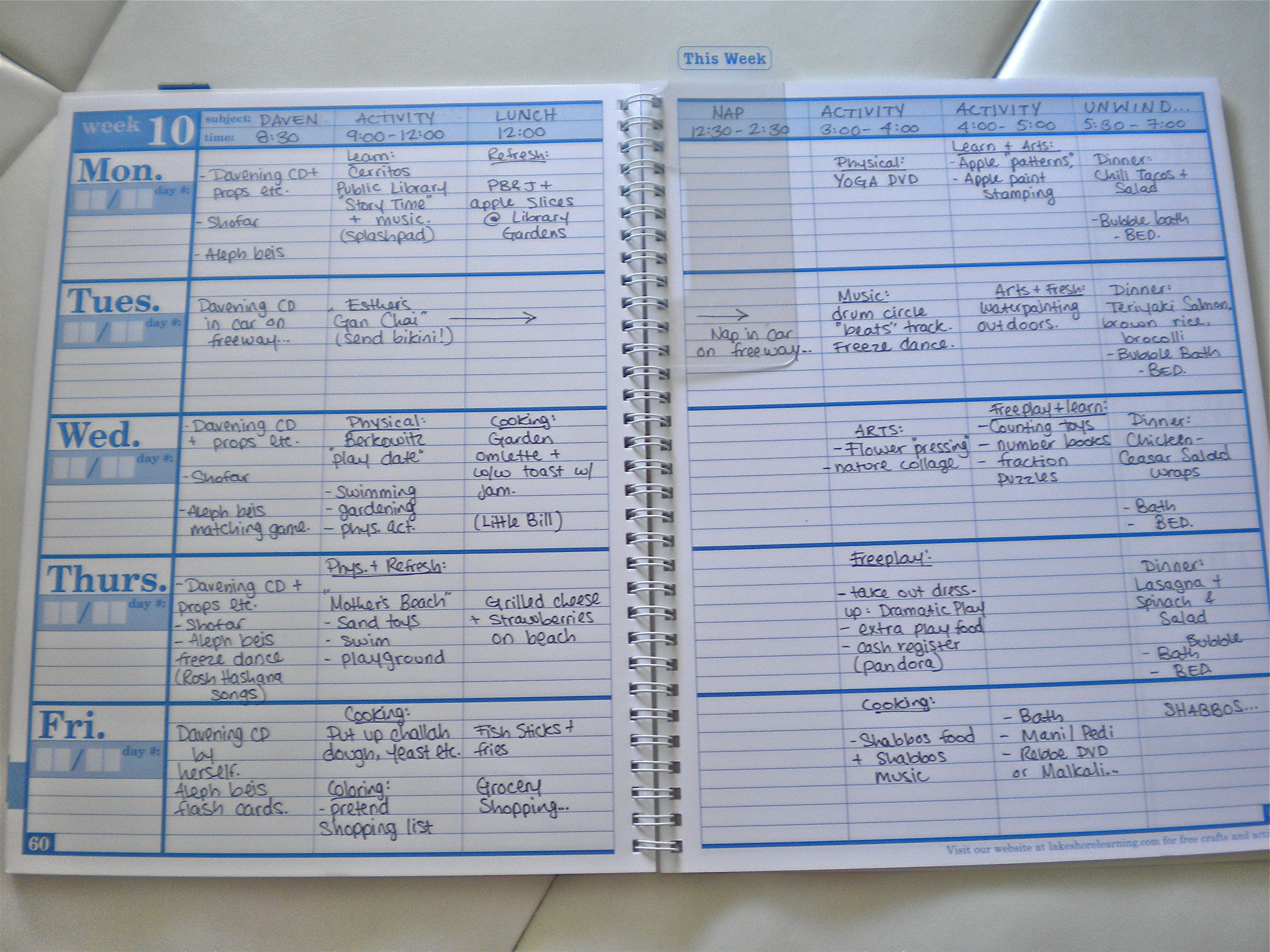 Homeschool Lesson Planner Learning By Grace Christian Home