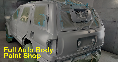 Full Auto Body Paint Shop In Hollywood Fl Call Us Today