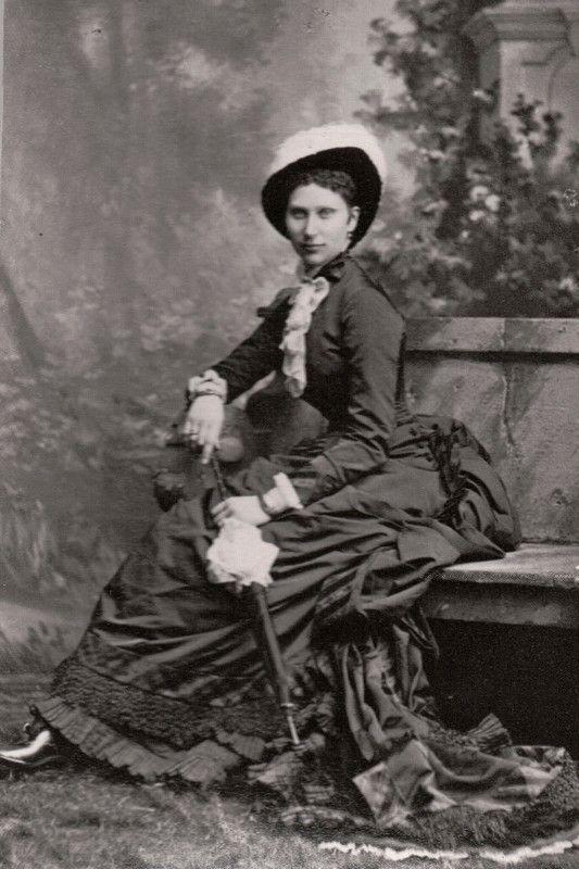 Crownprincess Lovisa of Denmark, neé Princess of Sweden. Circa 1878