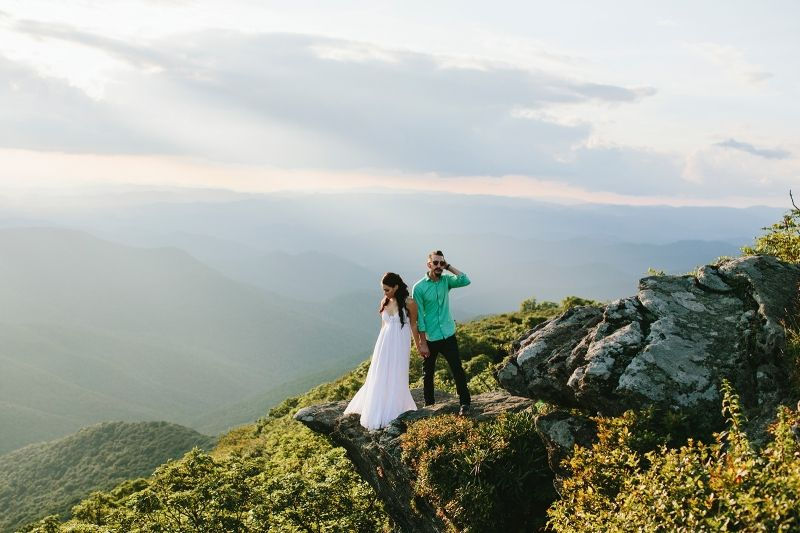 Wedding Photography Asheville Nc: Our Engagement Photos- Photograpaher: Megan Gielow