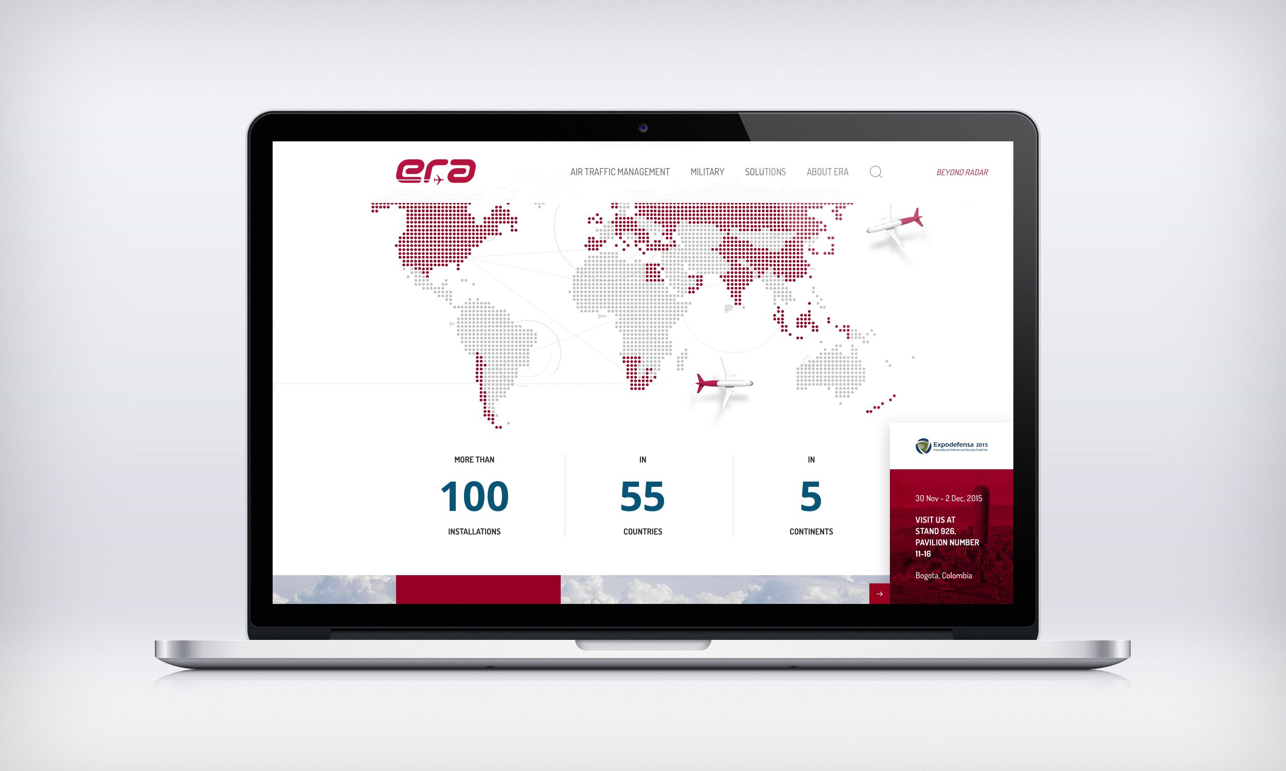 Definitely one of the most interesting projects was to create a #website for a Czech-based (but worldwide) company providing air traffic management systems, reconnaissance and surveillance solutions and much more. Check out their website http://www.era.aero/ and find out more about our solution here: http://www.symbiodigital.com/work/era-aero