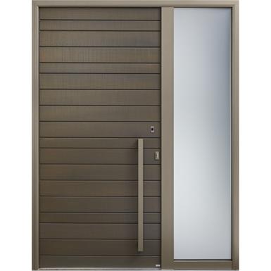 Wooden Front Door 94 Mm Thick Panel No Glazing Garage Door Design Garage Doors Wooden Garage Doors
