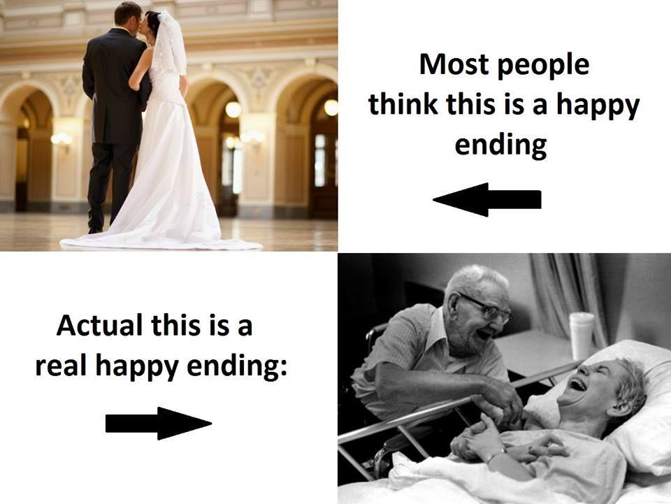 Real happy ending