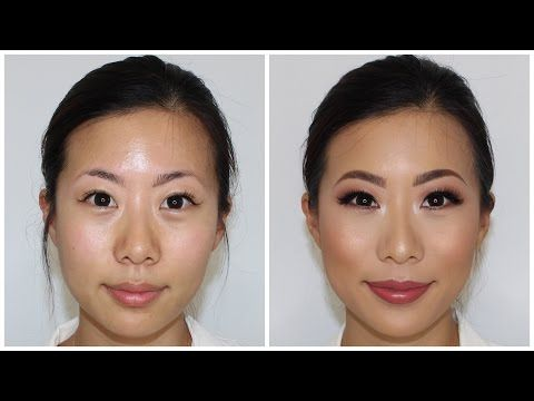 bc0b93705c3 Hooded Asian Eyes Client Makeup Tutorial ♡ Jasmine Hand - YouTube ...