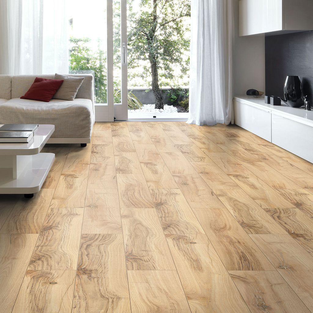 Brown Hickory Effect Laminate Flooring, Kitchen Laminate Flooring B Q