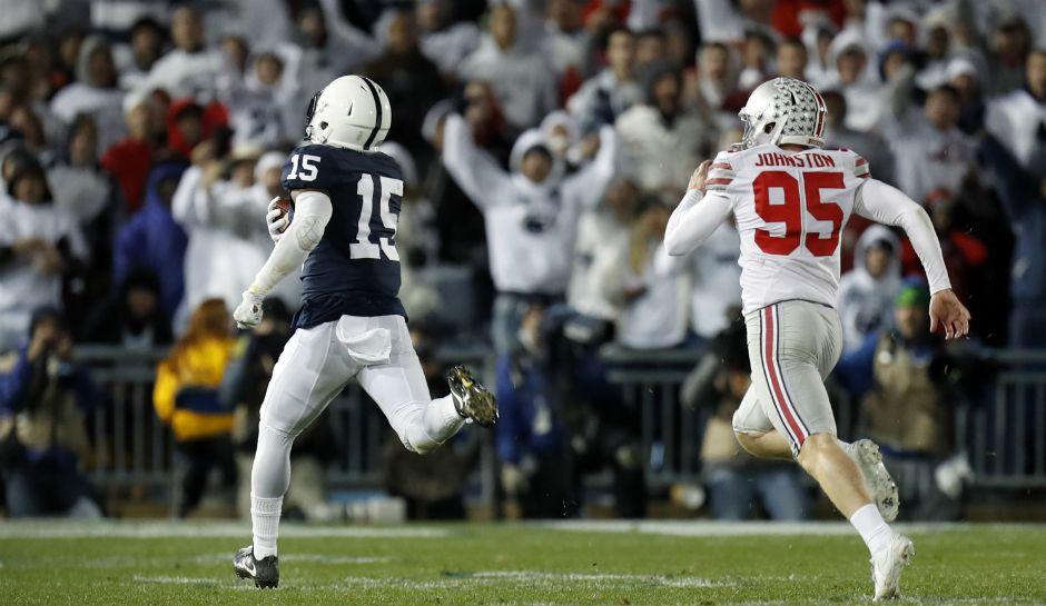 College football rankings week 9 michigan clemson rise