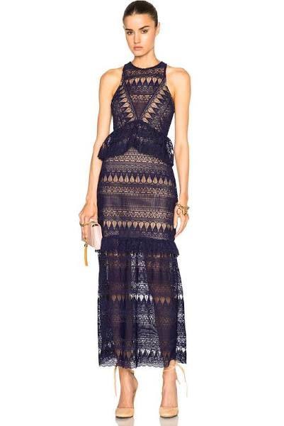 ca7f52f49fb2 ebay maxi self portrait | evening | Self portrait dress, Dresses ...