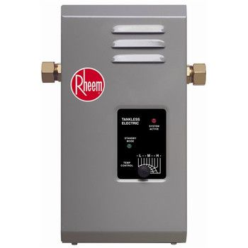 Rheem Rte 7 Electric Tankless Water Heater 7 Kw Heat Exchanger Locker Storage Camper Life