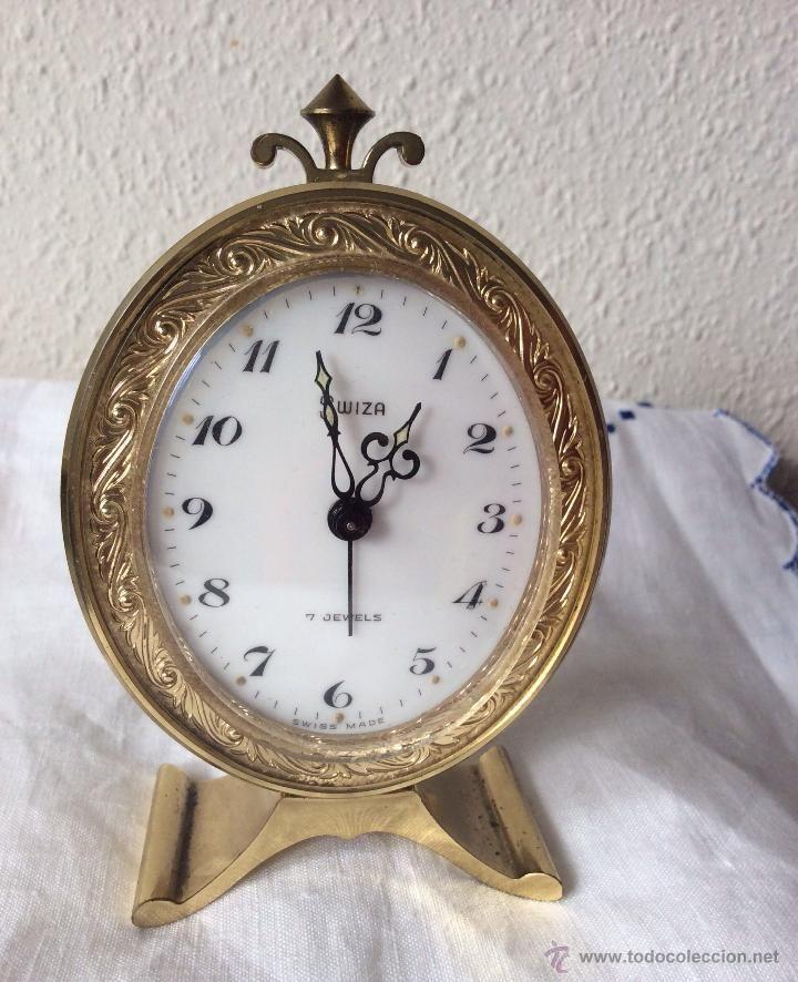 def4b88a5839 Reloj Despertador SWIZA fabricado en Suiza De los años 1960 ...
