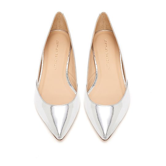 Loeffler Randall Lou Metallic Flats cheap sale shop for cheap sale cheap price discount authentic free shipping affordable in1Esa94AO