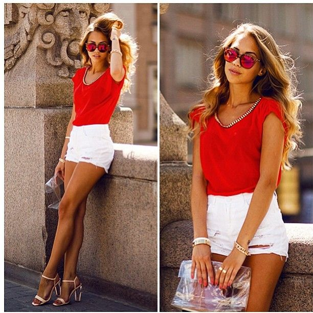 red and white. zazumi.com