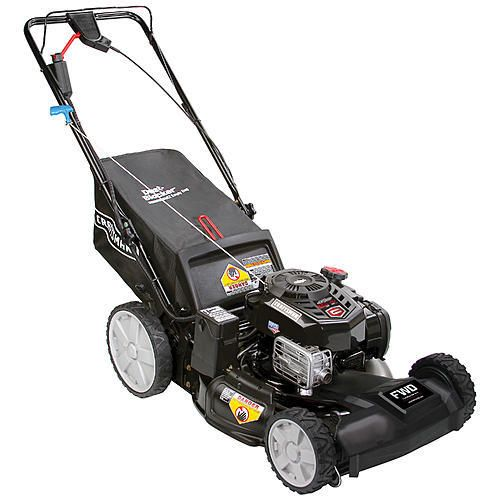 Craftsman 37744 163cc 21 Just Check Add Push Button Start Front Wheel Drive Lawn Mower W High Rear Wheels Lawn Mower Mower Lawn Mower Brands