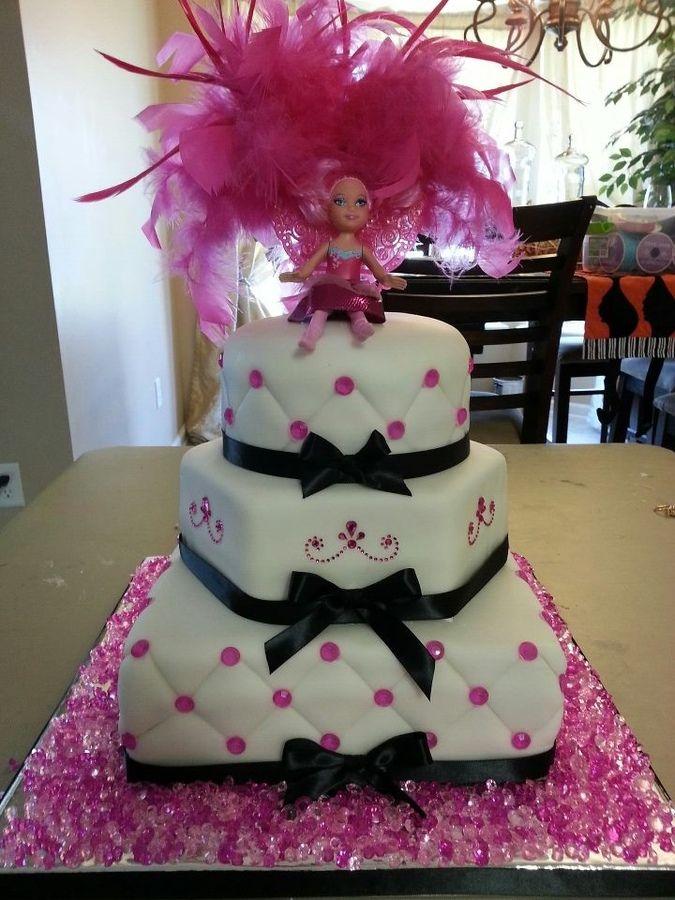 Glamour girls cake — 7