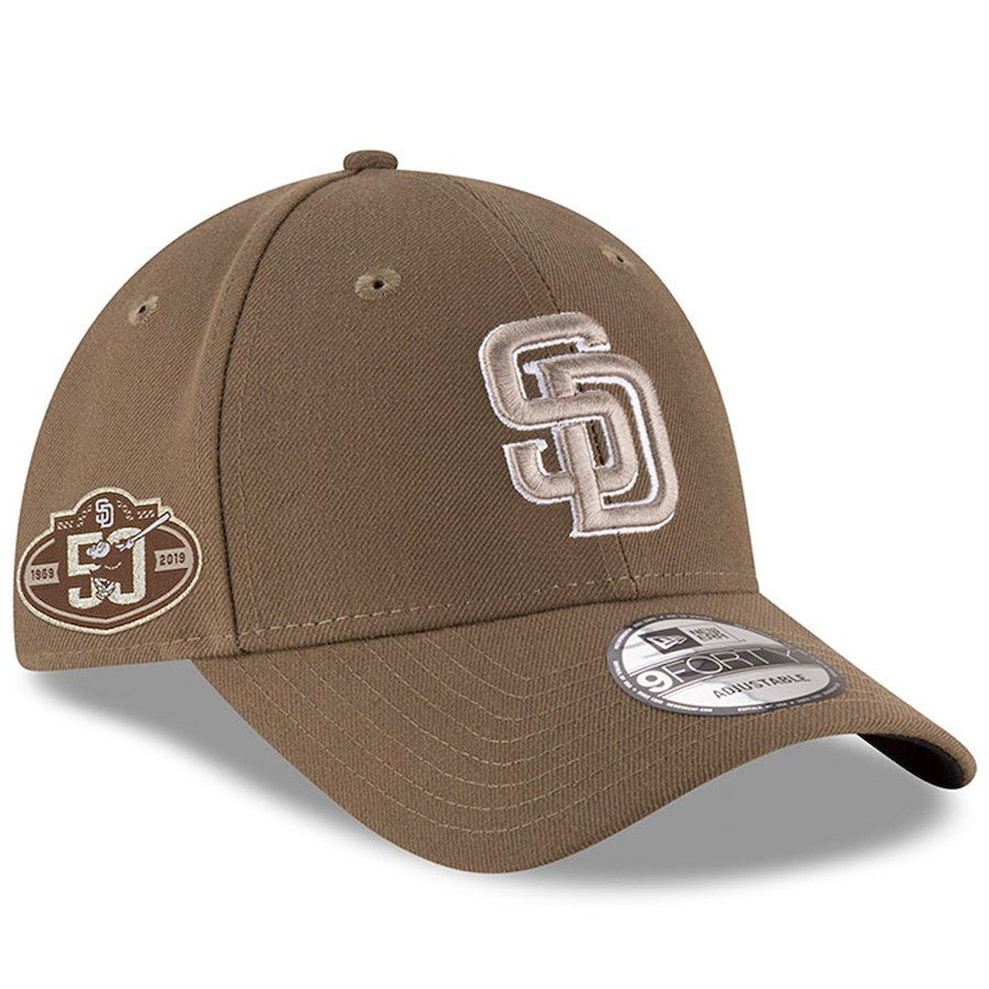 well known exclusive deals outlet store Men's San Diego Padres New Era Brown 50th Anniversary The League ...