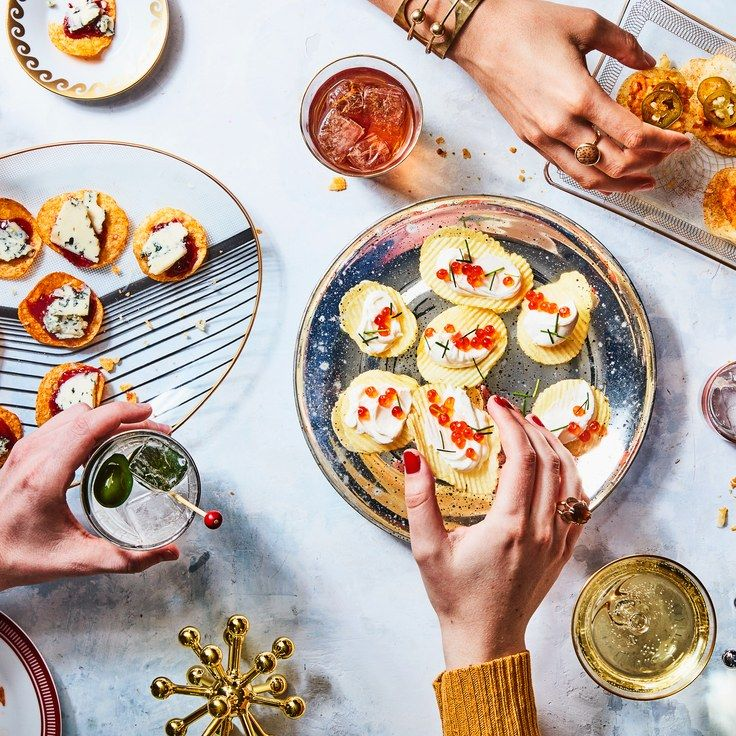 You Should Serve Potato Chips for Your New Year's Eve