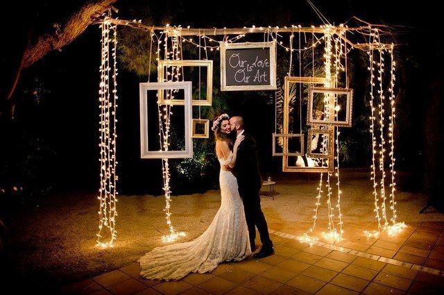 20 Incredible Night Wedding Photos | Backyard wedding ...