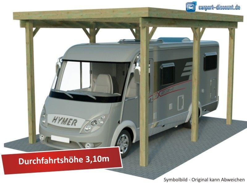 Wohnmobil Xxl Einzelcarport 3x5m Mit Bildern Carport Wohnmobil Einzelcarport Carport