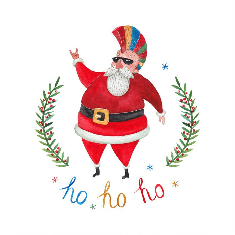 Elizabeta Buinosova #Frikrismas #Christmas #Otrasdemencias #Navidad #SantaClaus