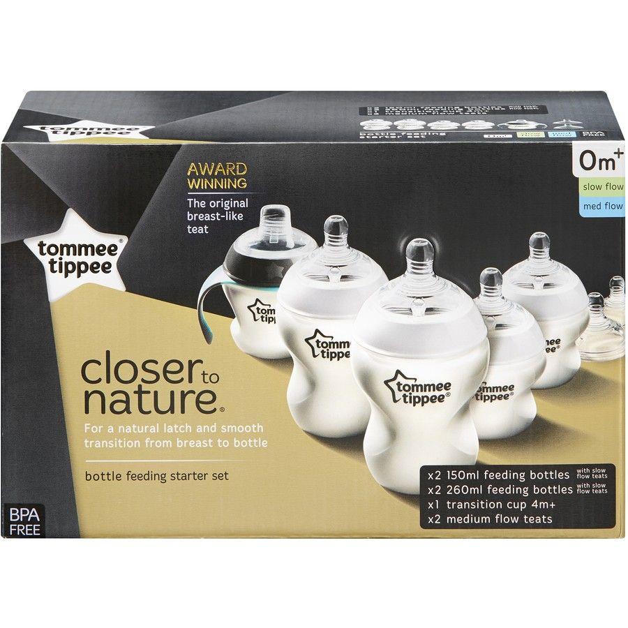 Tommee Tippee CTN Newborn Bottle Feeding Starter Set