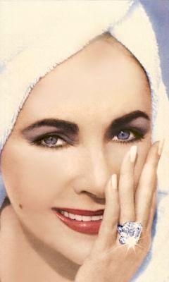 Turban Power Elizabeth Taylor Jewelry Elizabeth Taylor Celebrity Engagement Rings