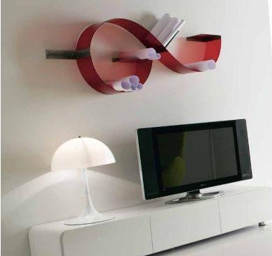 Beautiful Mensole Per Soggiorno Images - Design Trends 2017 ...