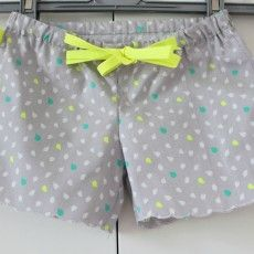 Short fillette | Couture vetement enfant,
