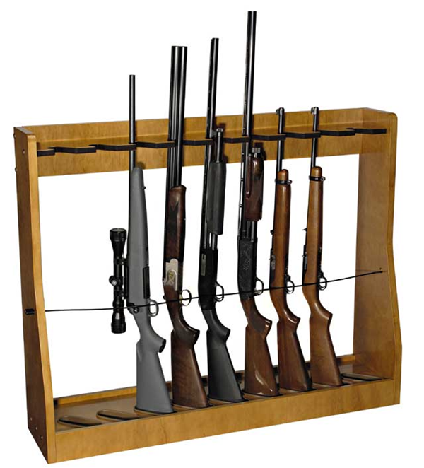 Gun Rack Woodworking and metal Plans