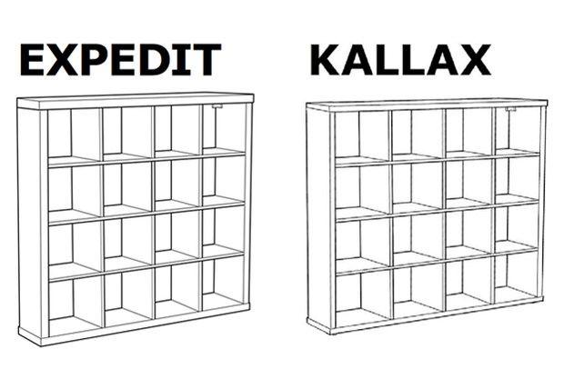 Les Internautes Pleurent Expedit Le Meuble En Voie De Disparition Kallax Ikea Bibliotheque Ikea Diy Ikea
