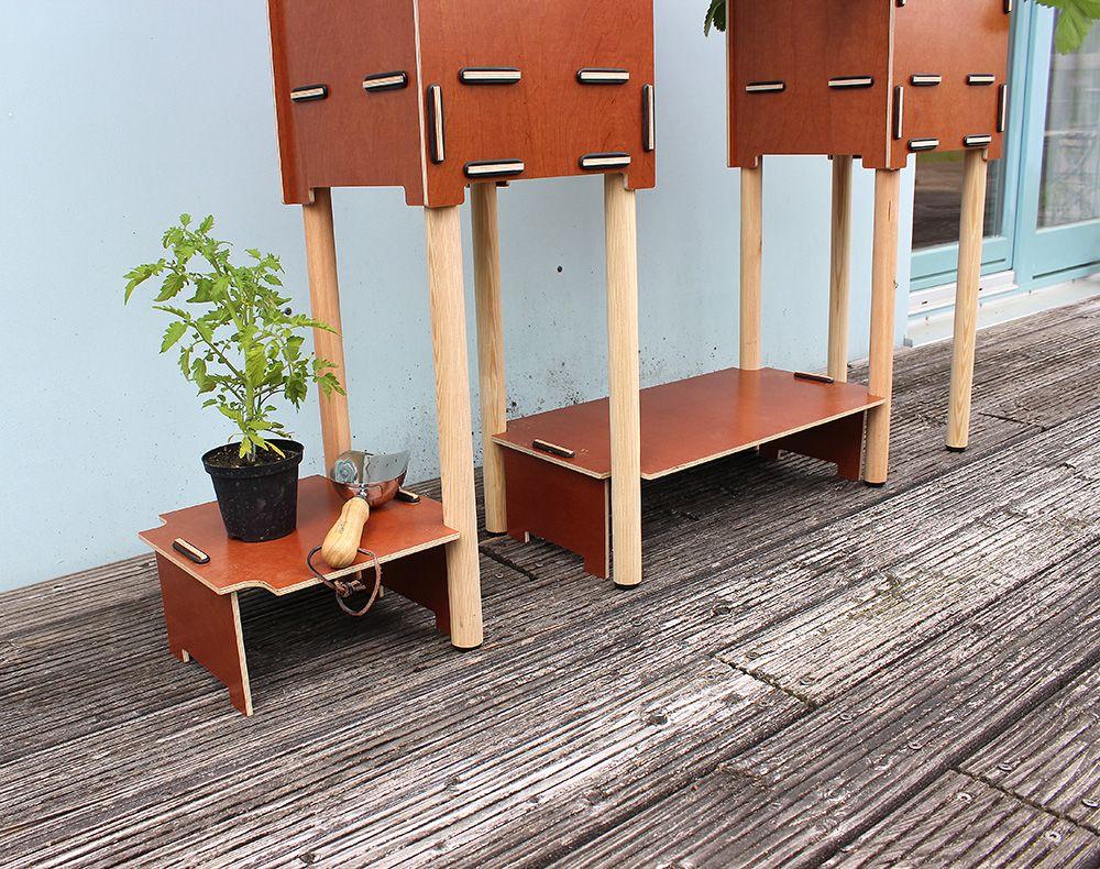 Einlegeboden Mit Tomatenpflanze Hochgarten Werkhaus Blumenkasten