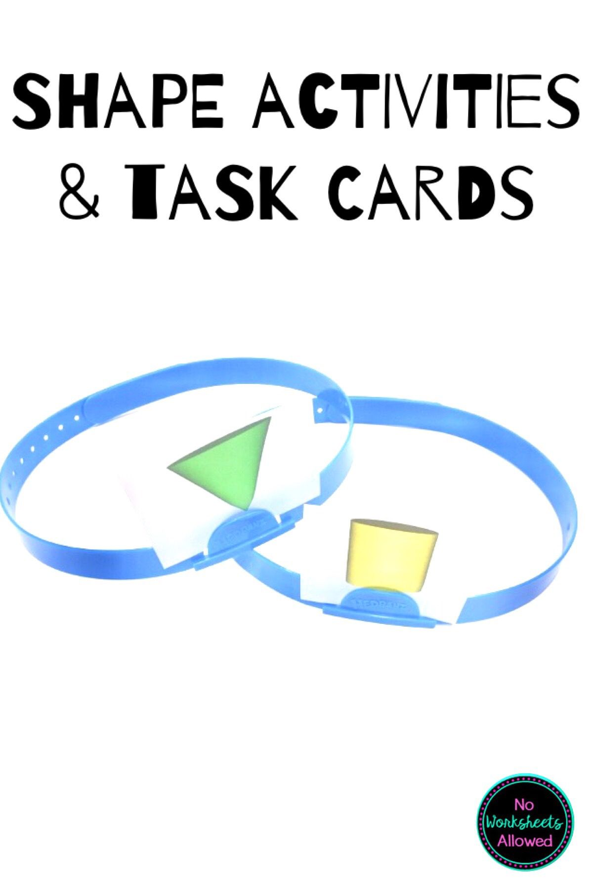 2d And 3d Shape Activities And Task Cards In With