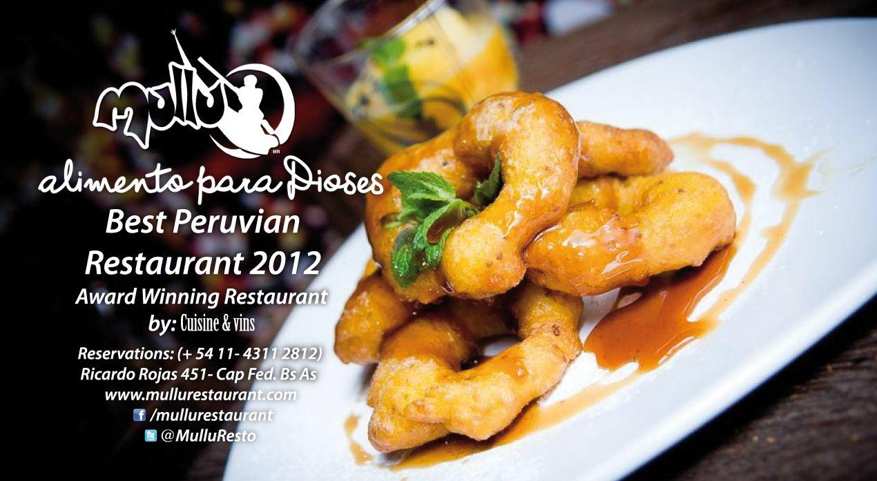 Flyer informativo. Cliente MULLU restaurant