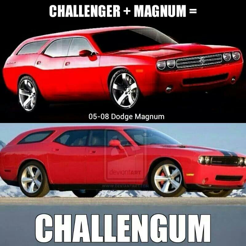 Challengum Dodge Magnum Magnum Station Wagon