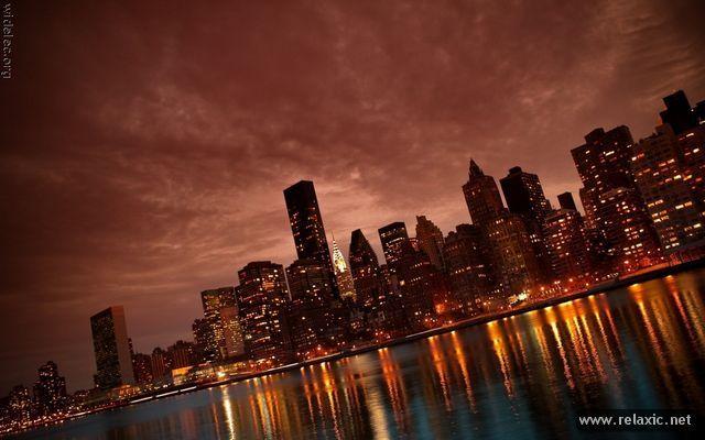 night_097 | Нью-йорк, Город
