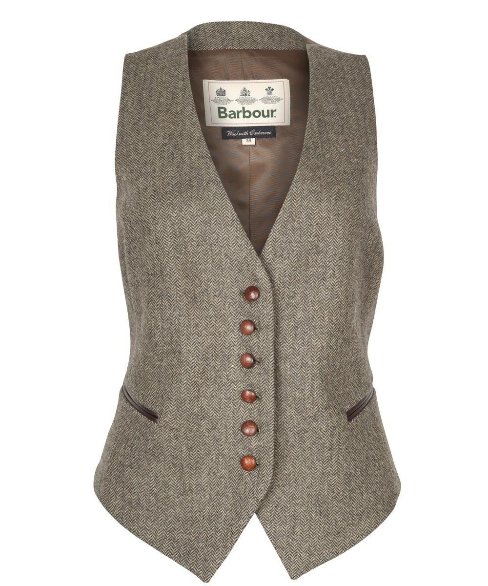 41a9b69f45286 Womens Barbour Thornton Waistcoat | Work Wardrobe in 2019 | Wool ...