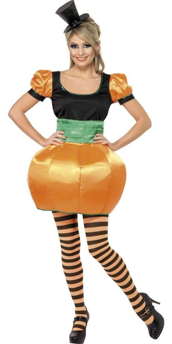Adult Pumpkin Costume Pumpkin costume, Costumes and Adult pumpkin - womens halloween ideas
