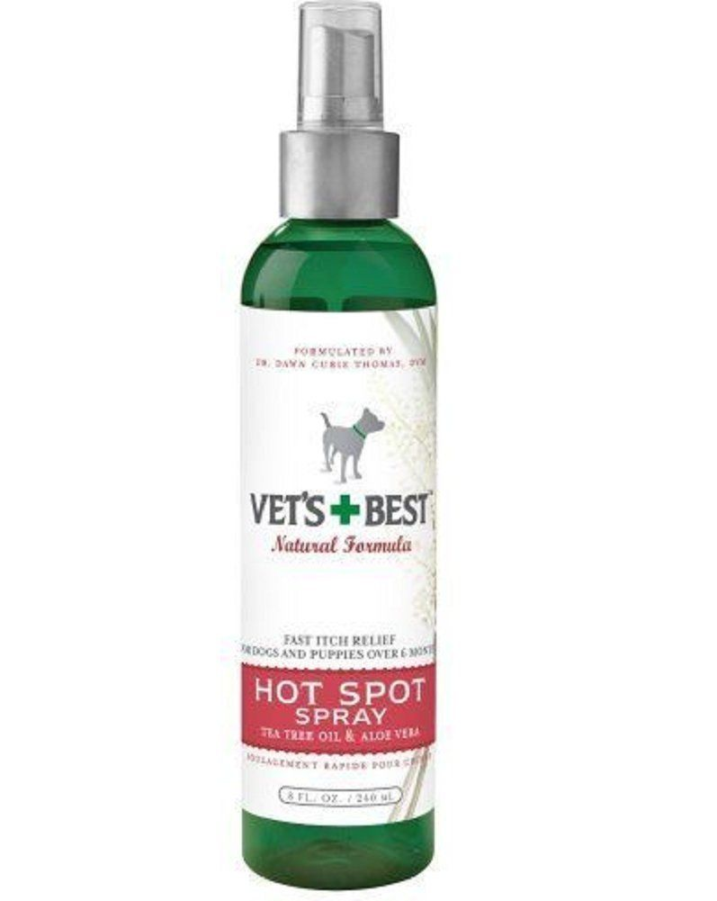 Vet's Best Hot Spot Spray for Dogs 8 oz Fast relief for