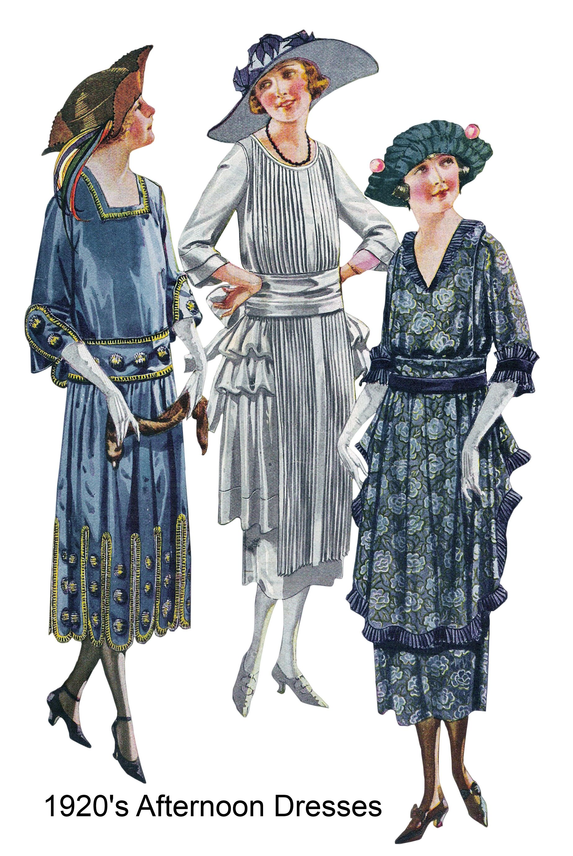 What Did Women Wear in the 1920s? 20s Clothing Trends