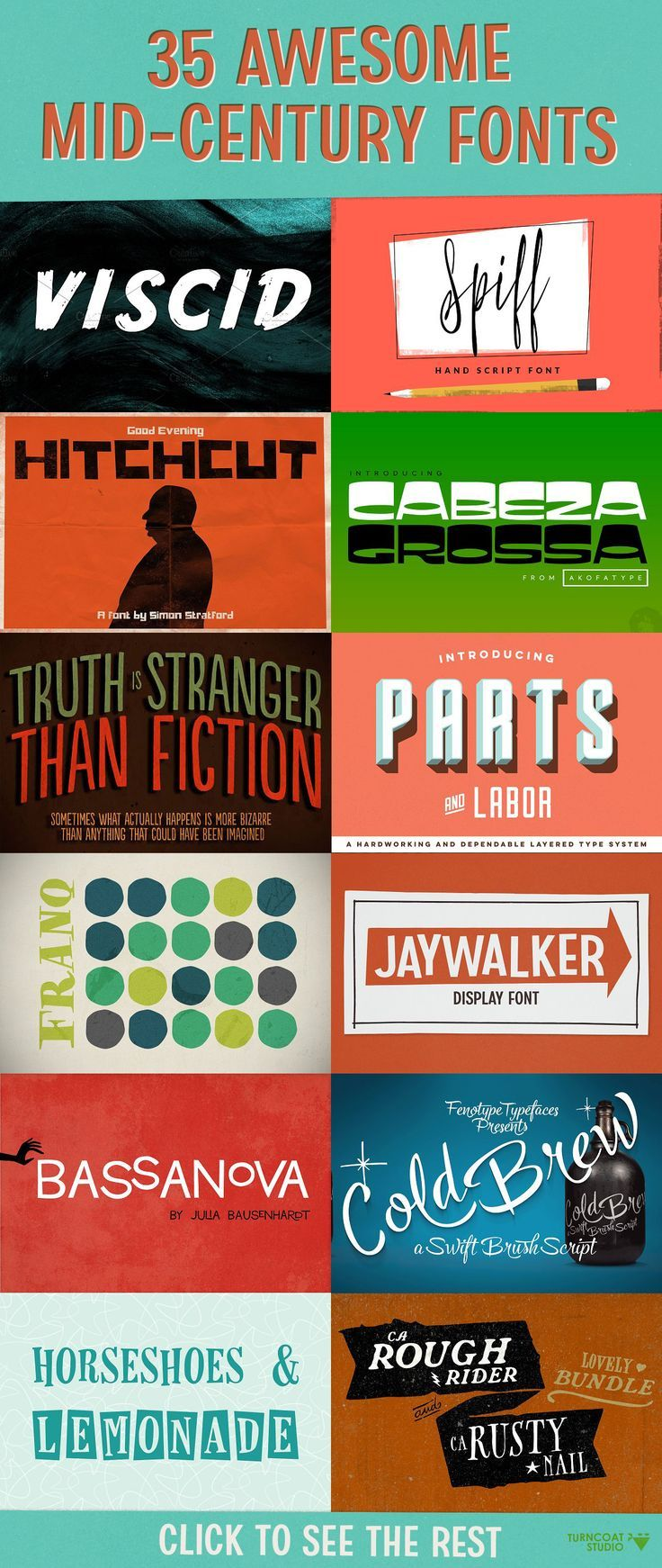35 awesome mid century fonts some of my favorite typefaces that 35 awesome mid century fonts some of my favorite typefaces that will add that mid century vibe to your design projects script serif sans hand ccuart Choice Image
