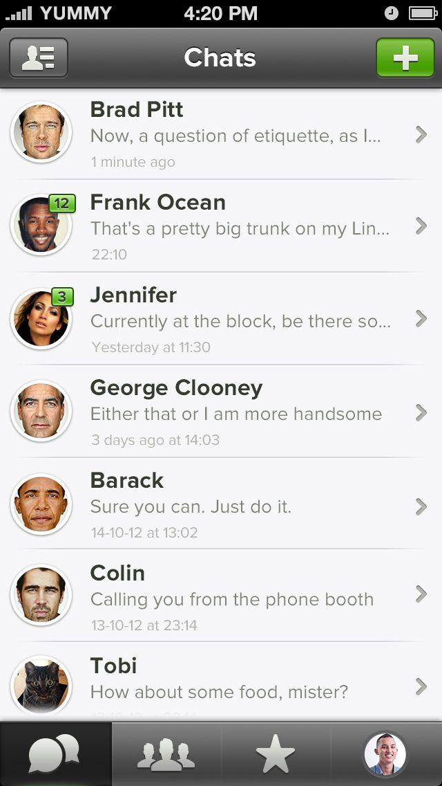 Whatsapp-chats