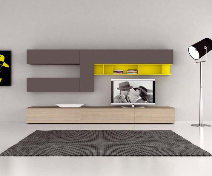 novamobili tv lowboard b 240 cm wohnzimmerm bel. Black Bedroom Furniture Sets. Home Design Ideas