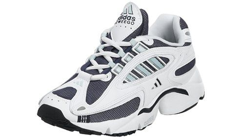 adidas Women's Ozweego Classic Running Shoe, Navy/Igloo/White, 7 M adidas