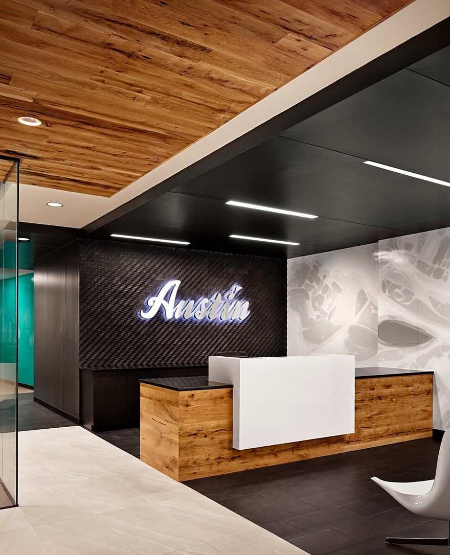 Austin Visitors Center Office By Runa Workshop With Images