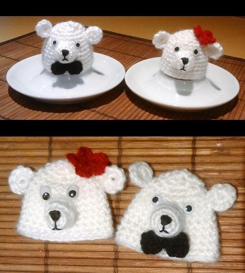 Eisbären Eierwärmer Crochethäkeln Pinterest Amigurumi