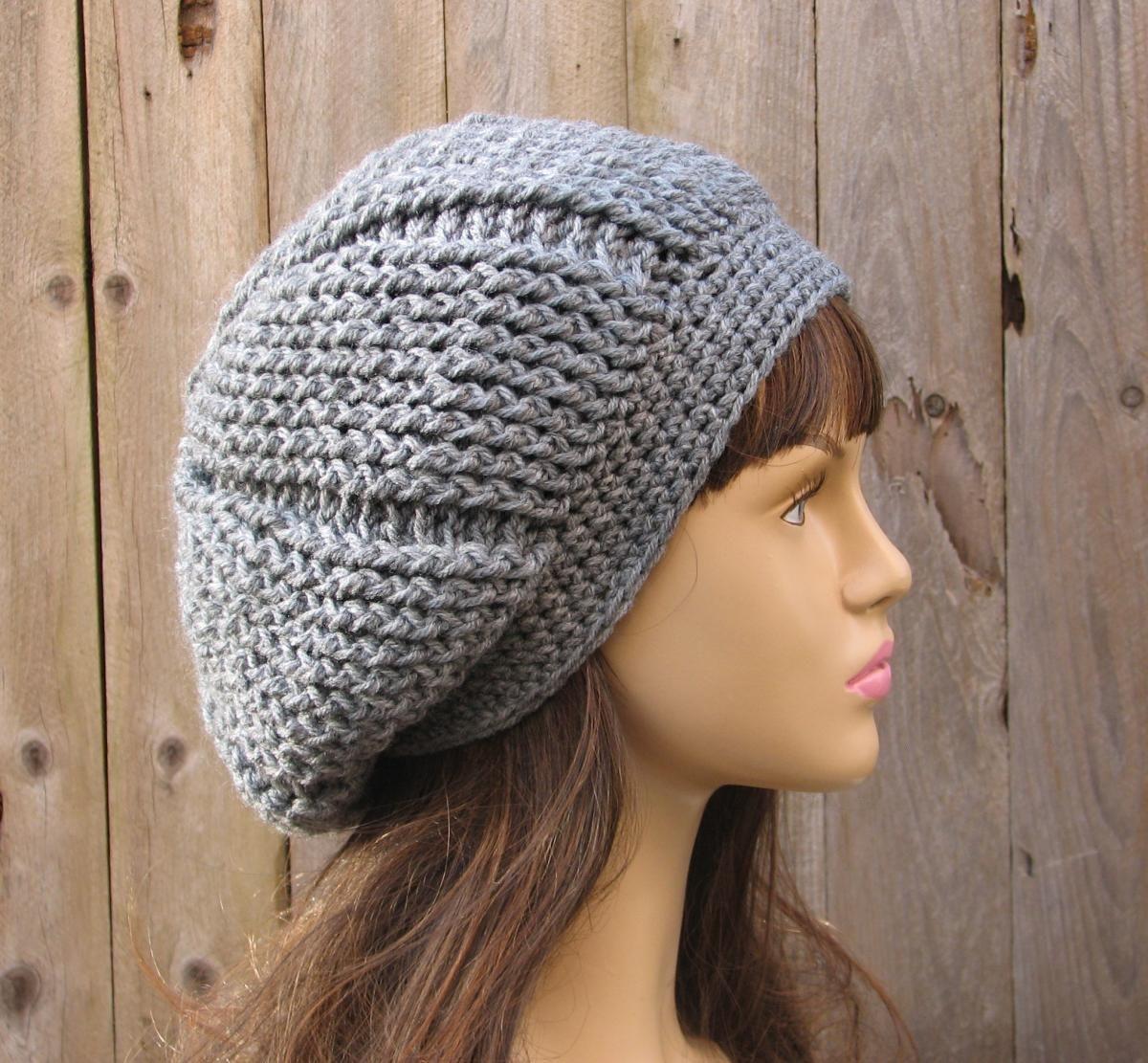 b6d4a6aead7 CROCHET PATTERN!!! Crochet Hat - Slouchy Reverseble Hat