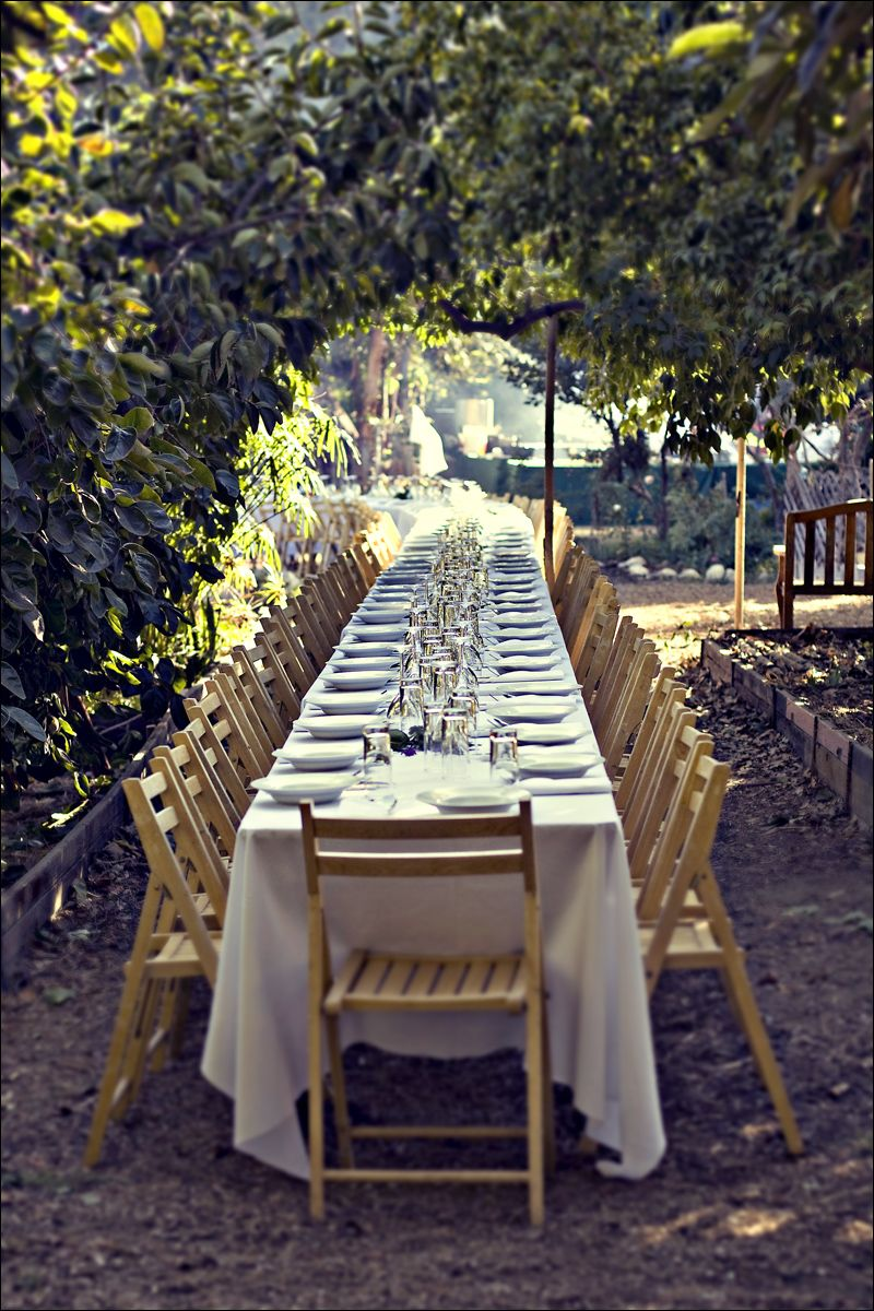 Outstanding In The Field Wedding Reception Venues Country Life Table Settings