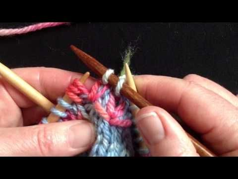 Flying Swallows Stitch ~ youtube demonstration of Lucy Neatby's 'Flying Swallow' stitch which is featured in the design of her Fiesta socks, mittens and vest