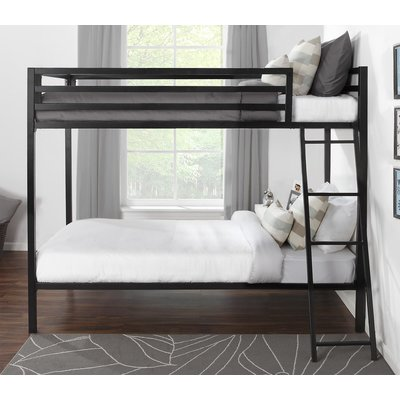 Mack Milo Doshie Metal Twin Over Twin Bunk Bed Products Bunk